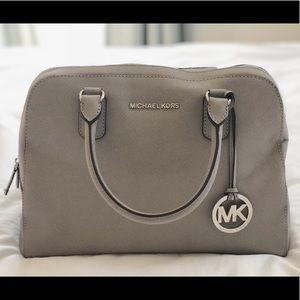 Michael Kors Leather Domed Handbag